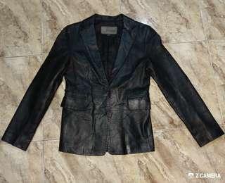 Blazer/ Jacket Leather Valentino Rudy Italy