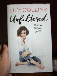 🚚 Unfiltered Lily Collin's Book