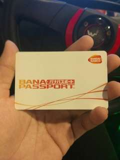 Bana Passport card