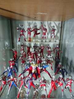 Ultraman figures