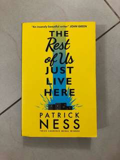 🚚 The rest of us just live here by Patrick Ness