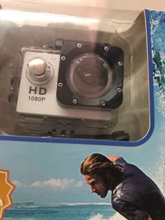 New 1080p Sports Cam White