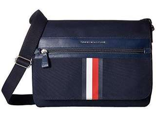 BRAND NEW Tommy Hilfiger Icon Messenger Canvas Bag