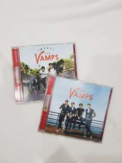 THE VAMPS CD AND DVD BUNDLE