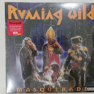 death metal cd - running wild- masquerade