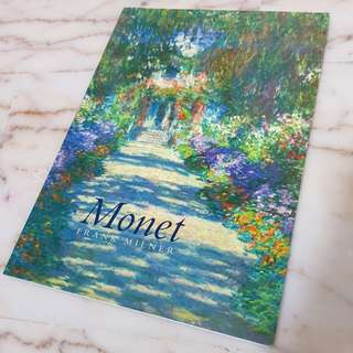 🚚 ♥️Monet Full Color Painting Book