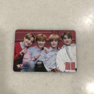 NCT 127 Photocard