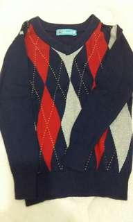 sweater jaket anak
