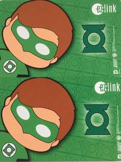 Limited Edition brand new DC Comics Green Lantern Design ezlink Card For $12 EACH.