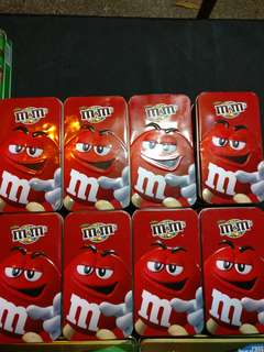 M&m Collectible Tin sealed box