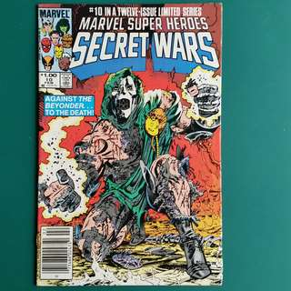 Marvel Super Heroes Secret Wars No.10 comic