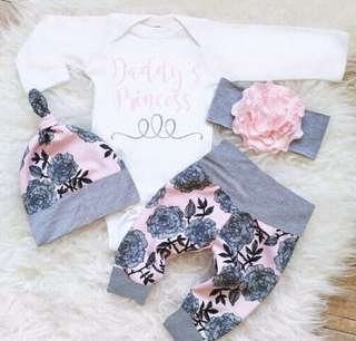 Baby clothing set (hat + cloth)