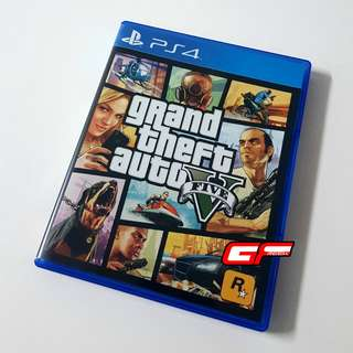 PS4 GTA V GRAND THEFT AUTO