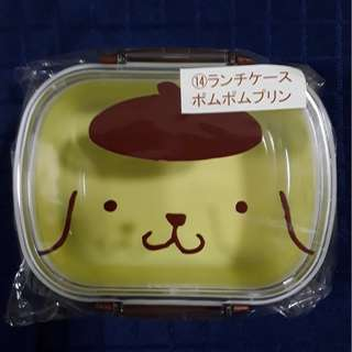 Sanrio lucky draw, Pompompurin lunch box