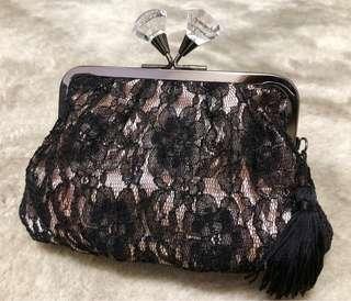 Jill Stuart Lace 化妝袋 手提包