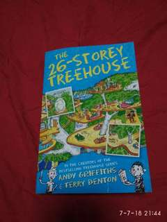 26 storey treehouse