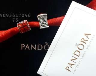 Pandora Telephone Booth Charm