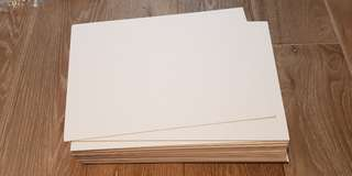 Blank Flash Cards - good quality