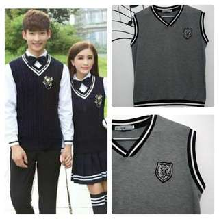 Korean uniform vest