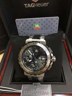 tag heuer watch w/box