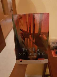 To kill a mockingbird hard cover by harper lee