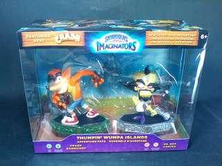 Crash Bandicoot & Dr. Neo Cortex Skylanders Imaginators Thumpin' Whumpa Islands Adventure Pack