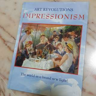 🚚 Full Color Art Revolutions Impressionisms