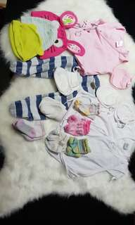 17 Baby apparrel set package