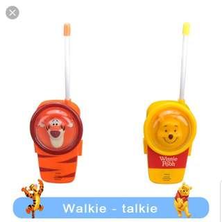 Winnie the pooh walkie talkie
