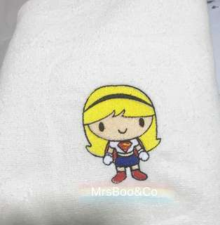 Customise superwoman Handtowel