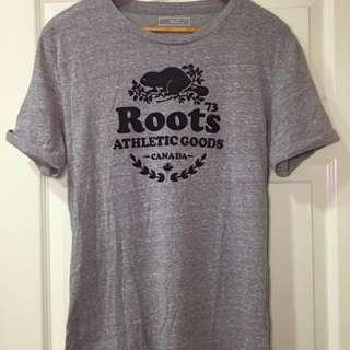 Roots灰色短上衣