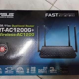 Asus RT-AC1200G+ Gigabit Router 華碩路由器