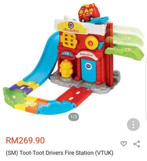 Vtech toot toot fire engine