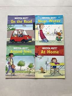 Watch Out!! (4 books)