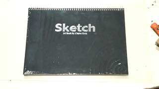 Sealed Sketchbook A4 (A'zone) ring binded