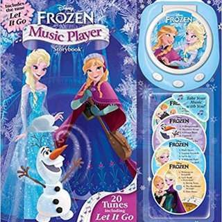 Frozen / Disney Princess Music Player story book