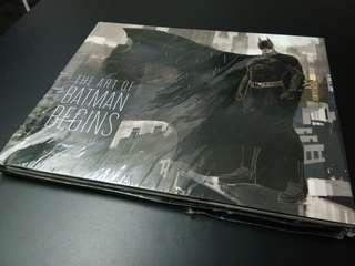 Buku The Art Of Batman Begins