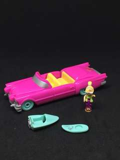 Vintage polly pocket pool party on the go