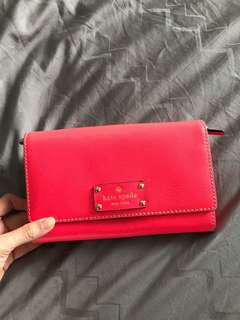 Kate spade pink pouch