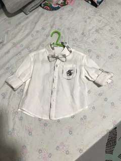 White shirt with bow from Nicholas & Bears