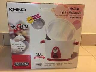 Khind AnShin Rice Cooker 1.8L