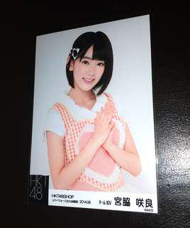 宮脇咲良 HKT48 AKB48 2014年  生寫真