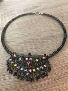 Indian Vintage Necklace - Kalung Etnik