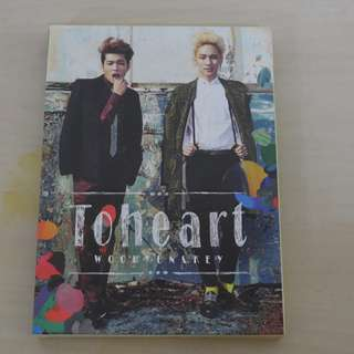 [CD UNSEALED/NO PHOTO CARD/SMALL SCRATCHES][READY STOCK]SHINEE INFINITE TOHEART KOREA MINI ALBUM; ORIGINAL FR KOREA (PRICE NOT INCLUDE POSTAGE)PLEASE READ DETAILS FOR MORE INFO; POSLAJU:PENINSULAR AREA :RM10/SABAH SARAWAK AREA: RM15