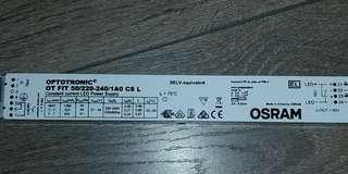 optotronic led driver OT FIT 50 / 220 240 1A0 CS L  Constant current LED driver. 27-54V. 925 mA