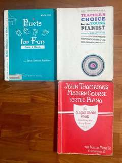 Music Piano Books