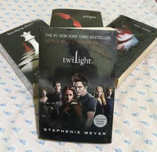 Twilight Series book set