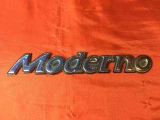 Emblem moderno