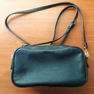 Mango Touch Sling Leather Bag