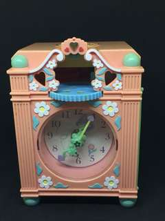 Vintage pollypocket clock
